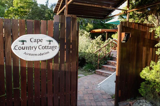Cape Country Cottage Entrance